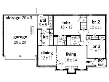Floor Plans Pole Barn Homes House With 4 Car Garage Plans Planos De