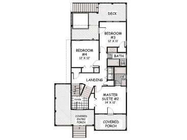 1st Floor Plan, 041H-0130