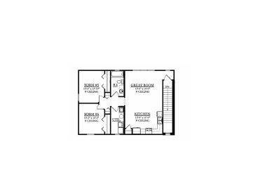 2nd Floor Plan Garage