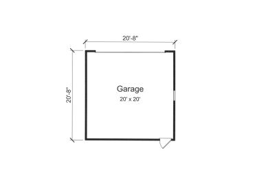 Detached Garage Floor Plan