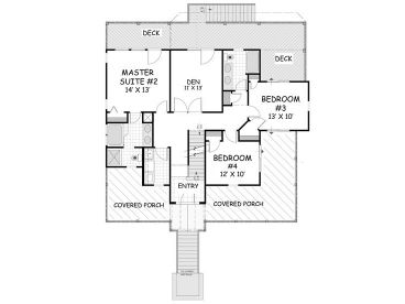 1st Floor Plan, 041H-0129