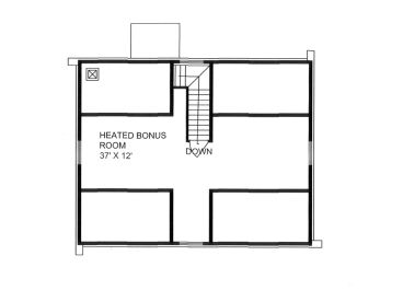 2nd Floor Plan, 012L-0077