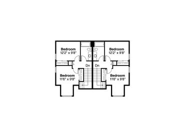 2nd Floor Plan, 051M-0008
