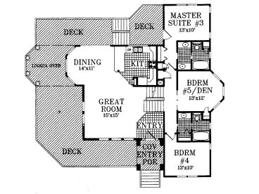 1st Floor Plan, 041H-0016
