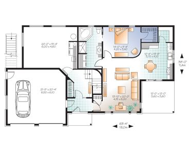 1st floor plan - Home Blueprints