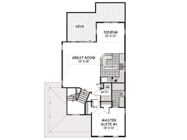 2nd Floor Plan, 041H-0130