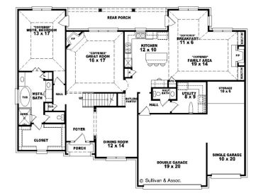 006h 0091 on Luxury Carriage House Plans