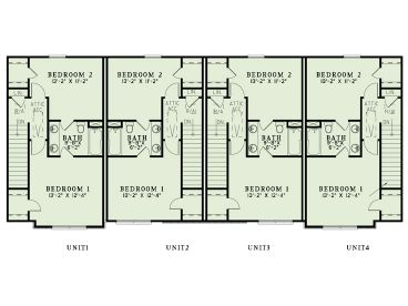 Multi family house plans apartment plan 025m 0094 at for Multi family condo plans