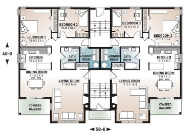 1st Floor Plan, 027M-0082