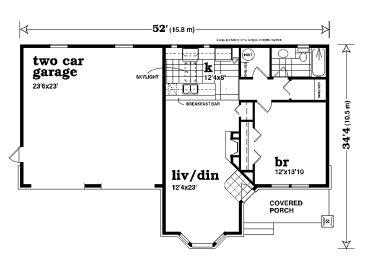 Garage Apartment Plans   Unique One-Story Garage Apartment Plan ...