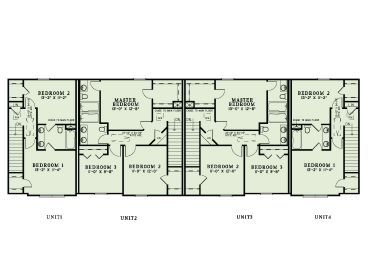 Apartment Plans Multi Family Home Design 025m 0091 At