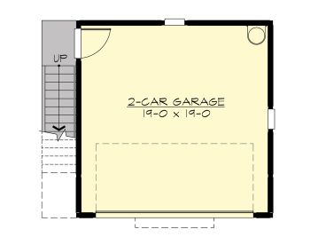 1st Floor Plan, 035G-0021