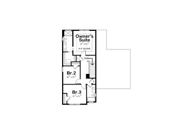 2nd Floor Plan, 031H-0359