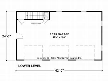 1st Floor Plan, 007G-0003