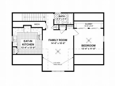 2nd Floor Plan, 007G-0003
