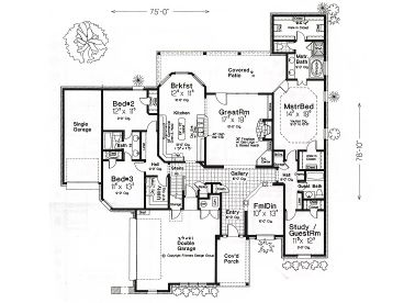 1st Floor Plan