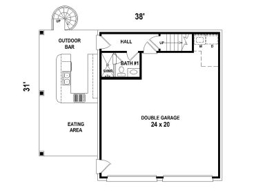 Carriage House Plans | Unique Carriage House Plan with 2-Car ...