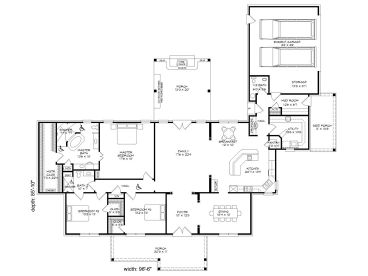 One Story Handicap Accessible House Plans View House Plans One ...