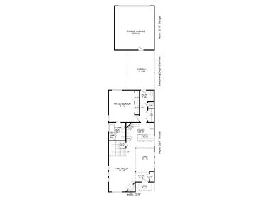 1st Floor Plan, 062H-0069