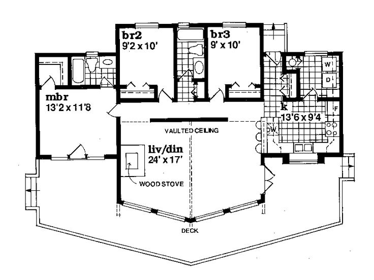 Plan 032h 0057 find unique house plans home plans and for No basement house plans
