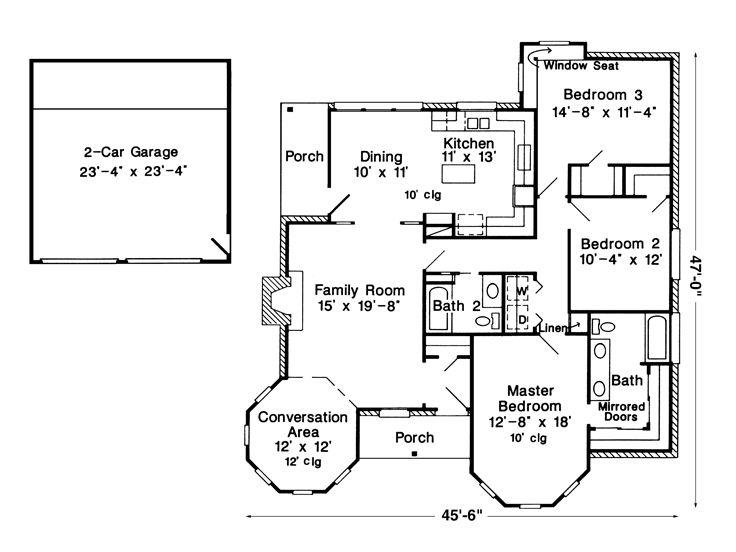 Plan 054H0102 Find Unique House Plans Home Plans and Floor Plans