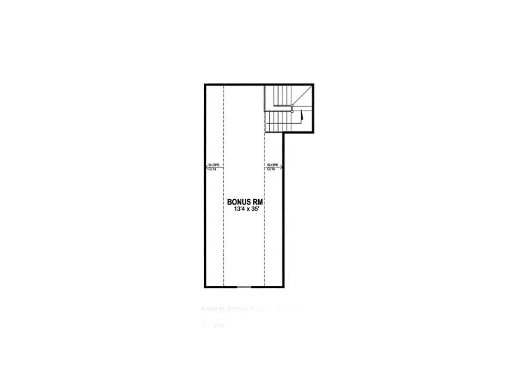 2nd Floor Plan, 014H-0014