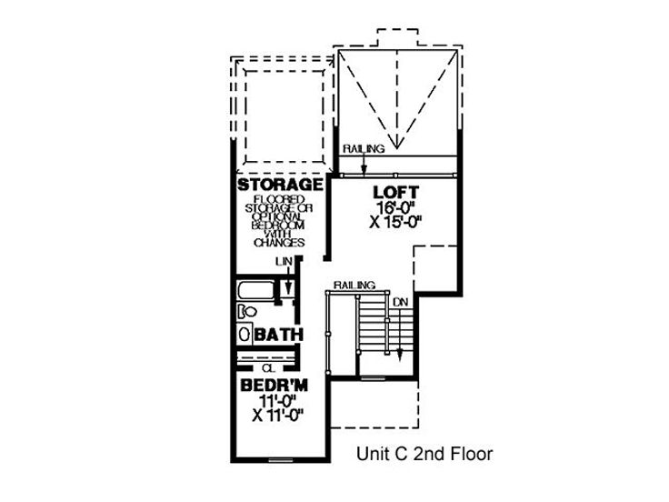 2nd Floor Plan C