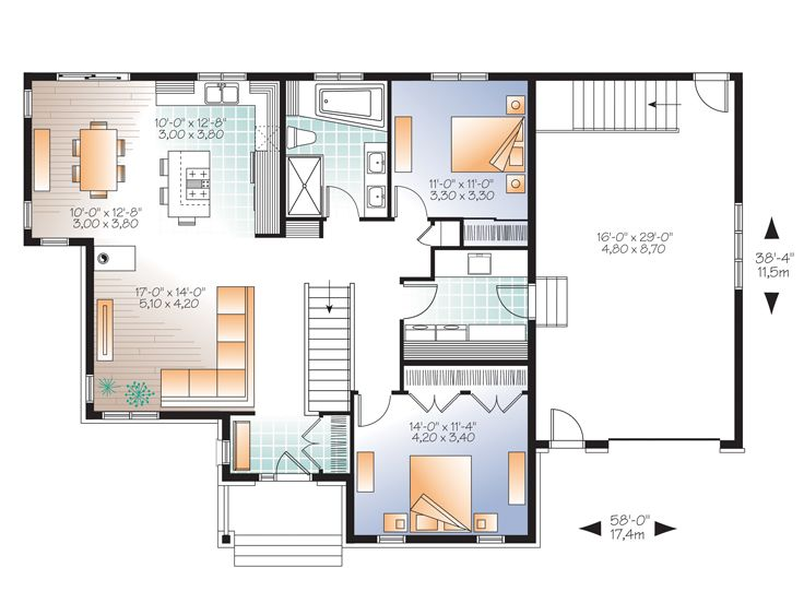 House Plans For Empty Nesters Empty Nest House Plan