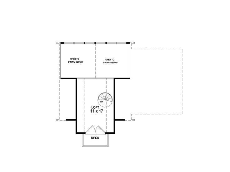 2nd Floor Plan, 006H-0140