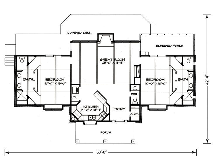 Ranch House Plans Affordable Ranch Home Plan Design