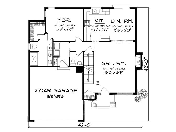 Affordable Home Plans Two Story Affordable House Plan
