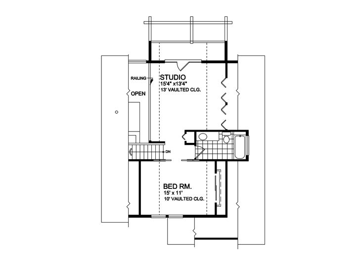 2nd Floor Plan, 010H-0006