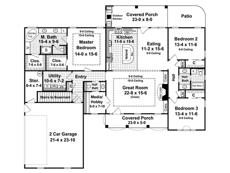 Optional Floor Plan, 001H-0077