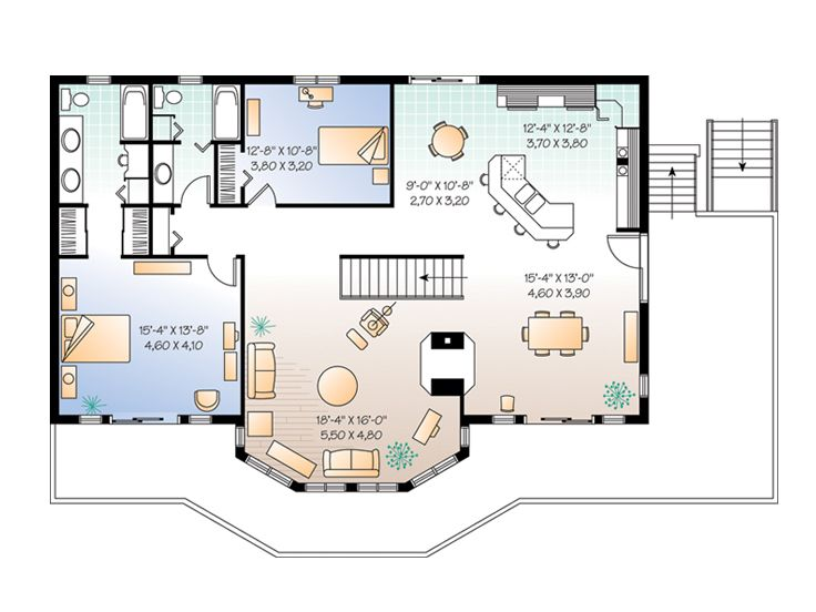 Plan 027h 0064 Find Unique House Plans Home Plans And