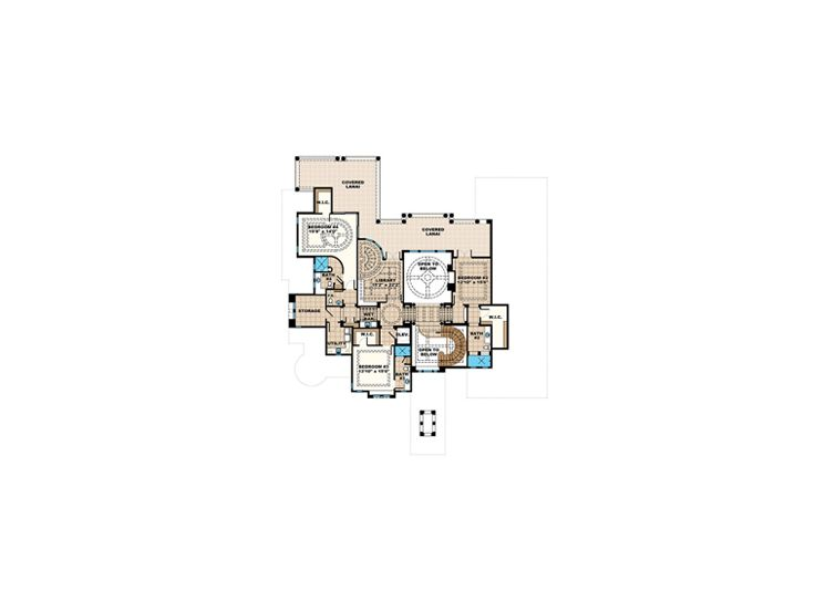 2nd Floor Plan, 037H-0251