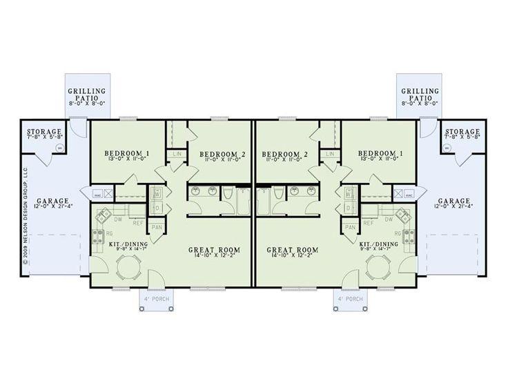 Unusual duplex floor plans joy studio design gallery for Duplex beach house floor plans