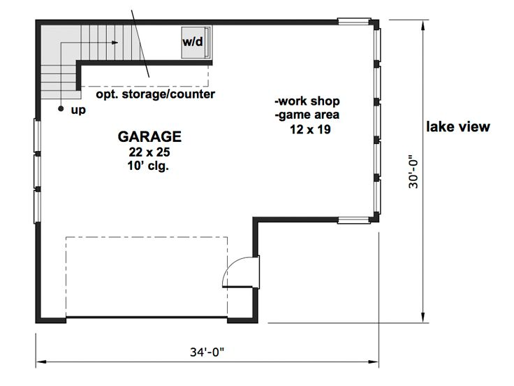 1st Floor Plan, 023G-0003