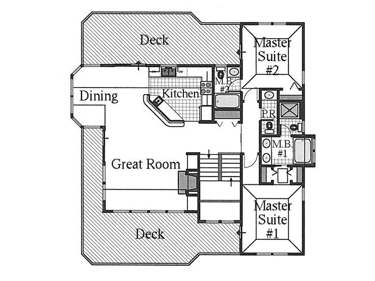 2nd Floor Plan, 041H-0056