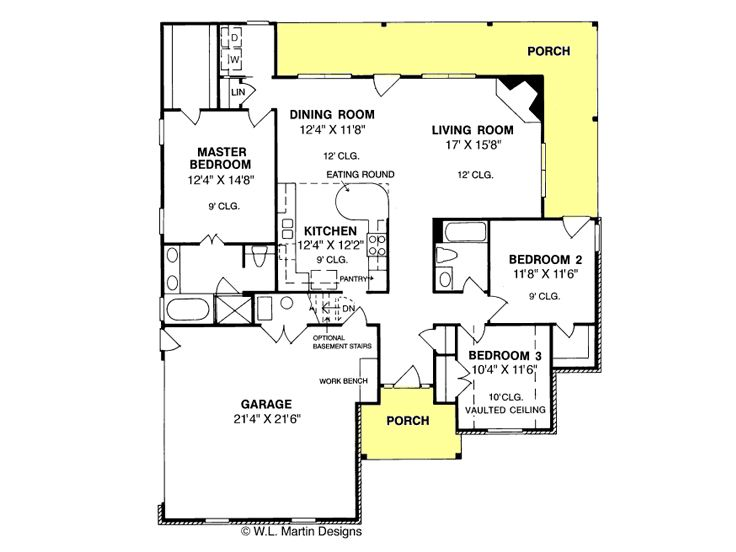 Small home plans small ranch house plan makes a nice for Small starter house plans