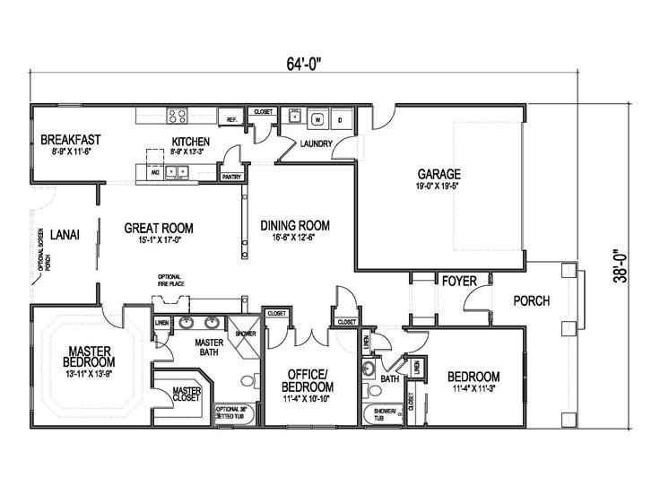 Small House Plans Small Affordable Ranch House Plan