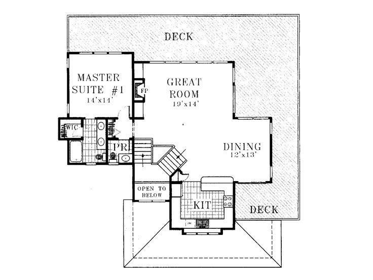 2nd Floor Plan, 041H-0017