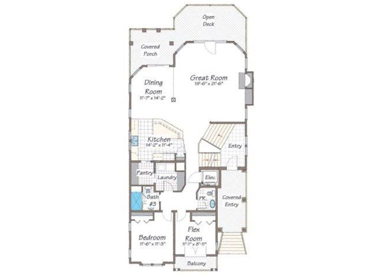 1st Floor Plan, 041H-0135