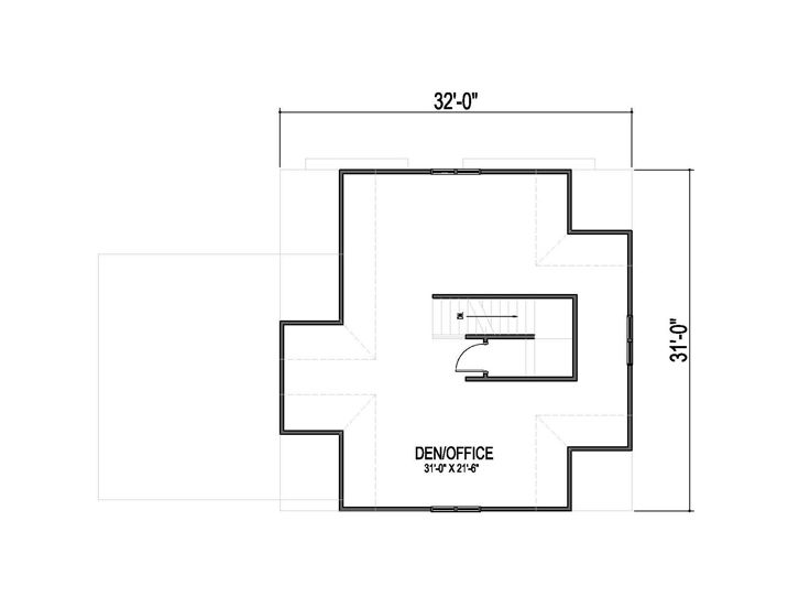 Opt. 3rd Floor Plan
