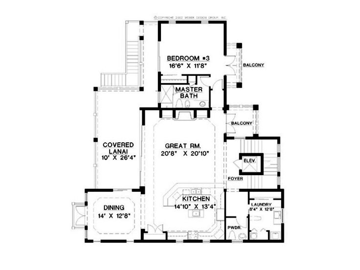 2nd Floor Plan