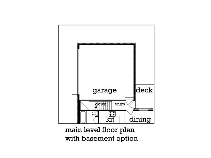 Opt Basement Plan
