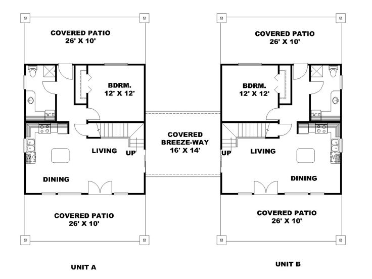 1st Floor Plan, 012M-0006