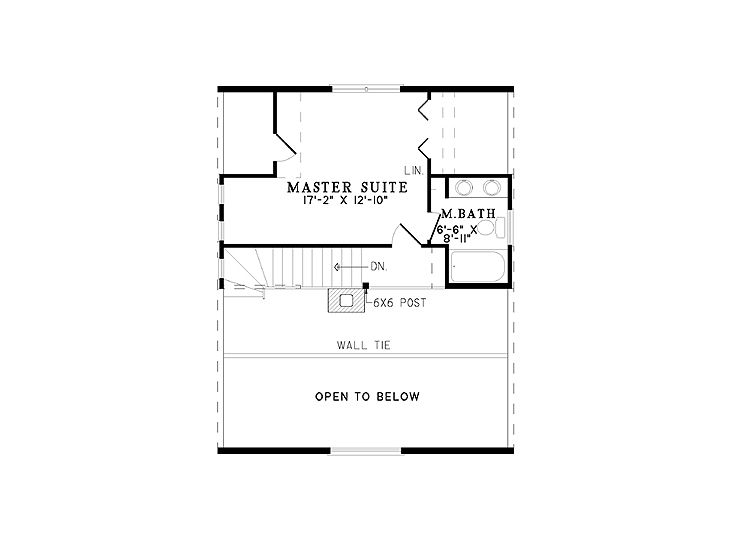 2nd Floor Plan, 025L-0022