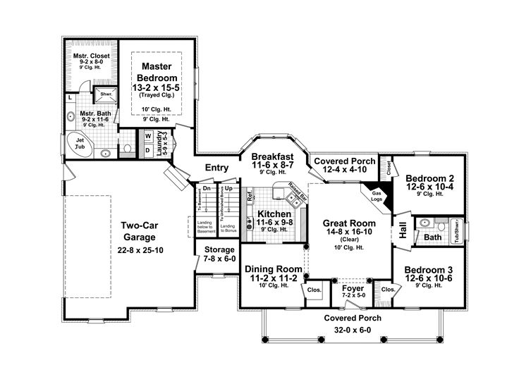 Superieur 1st Floor Plan