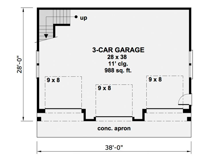 1st Floor Plan, 023G-0002