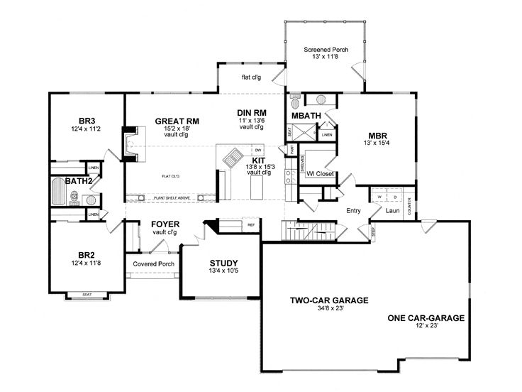 Plan 014h 0073 find unique house plans home plans and for Room above garage plans